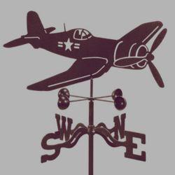 Corsair Airplane Weathervane