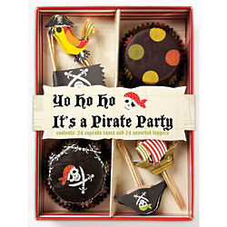 Pirate Party Cupcake Kit