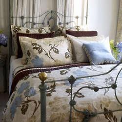 Sanssouci Egyptian Cotton Sateen Queen Duvet Cover