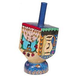 Hand-Painted Hanukkah Dreidel