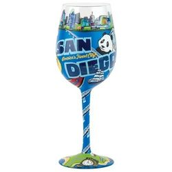 San Diego Wine Glass