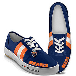 Women's I Love the Chicago Bears Shoes