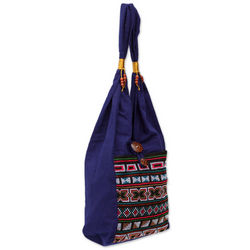 Akha Life Cotton Handbag