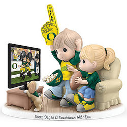 Every Day Is a Touchdown with You Oregon Ducks Figurine