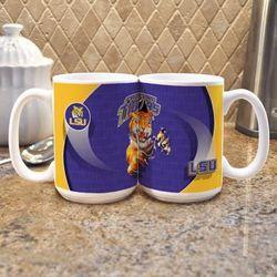 LSU Mike the Tiger Mascot Mugs