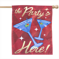 The Party's Here Flag