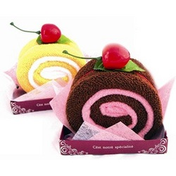 Sweet Cake Roll Towel