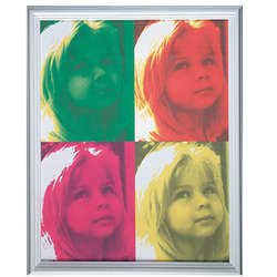 Personalized Pop Art Photo Poster