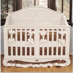 Chelsea Lifetime Crib in White