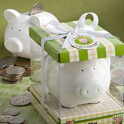 Piggy Bank Shower Favor