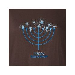 Women's Happy Hanukkah Long Sleeve T-Shirt