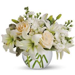 Isle of White Flowers Bouuet