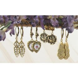 Romantic Drop Earring Set