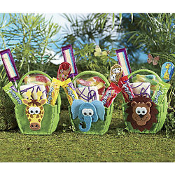 Zoo Candy Basket Trio