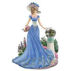 Thomas Kinkade Garden of Prayer Figurine