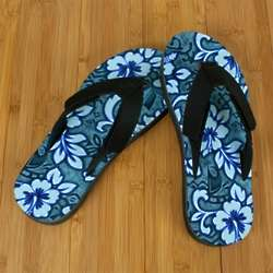 Blue Hawaii Poi Pro Fit Sandals
