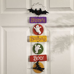 Bibbity Bobbity Boo Halloween Sign