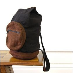 Hemp and Shayma Cotton Sling Backpack