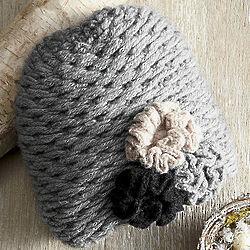 Flower Power Head Hugger Hat