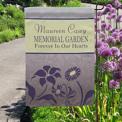 Memorial Garden Personalized Flag
