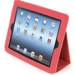 Eco-Leather Red iPad 3rd Generation Padfolio