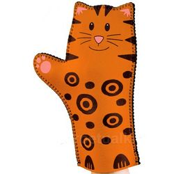 Pretty Kitty Oven Mitt