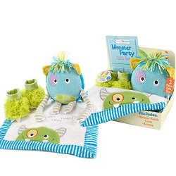Baby's Monster Party Gift Set