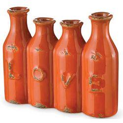 Love Tangerine Vases