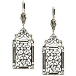 Quadrille Crystal Earrings