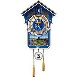 Kansas City Royals Cuckoo Clock