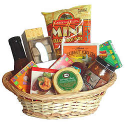 Mexican Fiesta Cheese Gift Basket