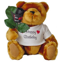 Over The Hill Birthday Teddy Bear