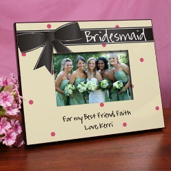 Printed Bridesmaid Keepsake Frame