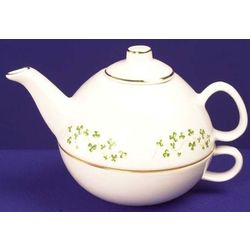 Trellis Shamrock Tea for Me Teapot