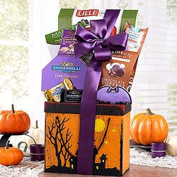Spooky Delights Gift Basket