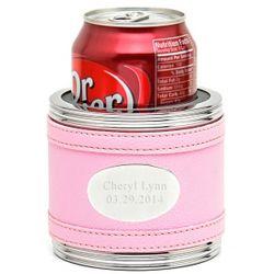 Pretty in Pink Personalized Koozie