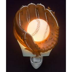 Baseball and Glove Night Light
