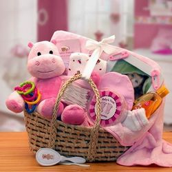 Our Precious Baby Carrier Gift Basket