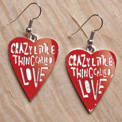 Crazy Little Thing Called Love Earrings
