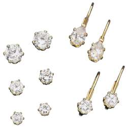 Clip Style Cubic Zirconia Earring Collection