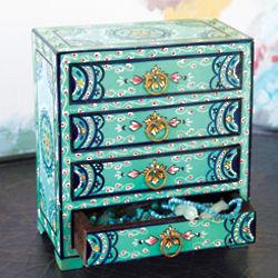 Turquoise Jewelry Box