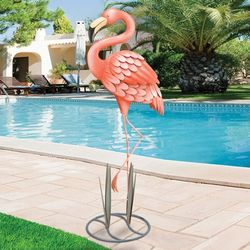 Grand Flamingo Patio Accent