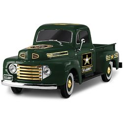 US Army Tribute 1:36 Scale 1948 Ford F1 Truck Sculpture