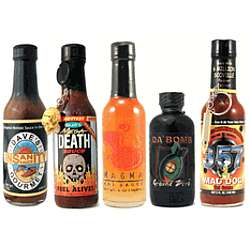 Extreme Heat Lovers Hot Sauce Set