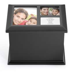 Black Collage Top Box