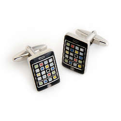Dashing iPhone Cufflinks With Personalized Case