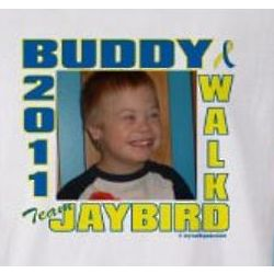 Personalized Down Syndrome Buddy Walk Photo T-Shirt
