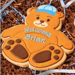 Personalized It's a Boy Giant Cookie