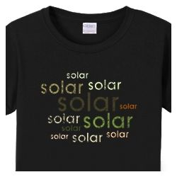 Solar Repeated Womens T-Shirt