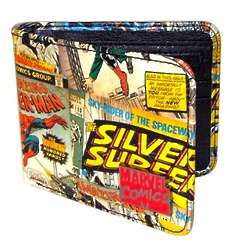 Marvel Wallet with Exterior Comic Book Print